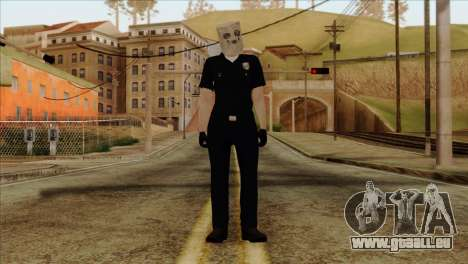 Skin 3 from Heists GTA Online DLC für GTA San Andreas
