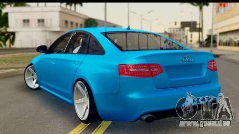 Audi RS6 Vossen pour GTA San Andreas laissé vue
