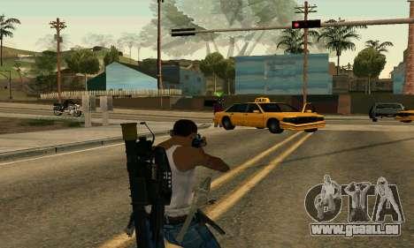 M4A1 Hyper Beast pour GTA San Andreas troisième écran