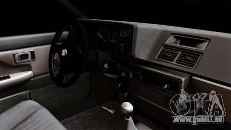 Toyota AE86 pour GTA San Andreas vue de droite