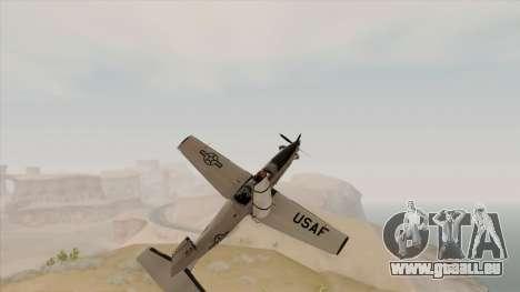 EMB T-6A Texan II US Navy für GTA San Andreas rechten Ansicht