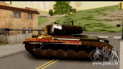M26 Pershing Tiger für GTA San Andreas linke Ansicht