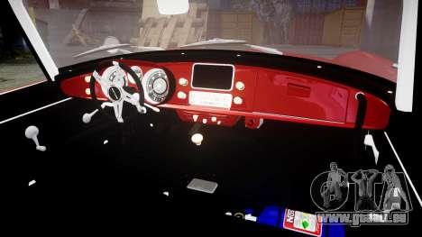 BMW 507 1959 Stock Hamann Shutt VX4 [RIV] pour GTA 4 est une vue de l'intérieur