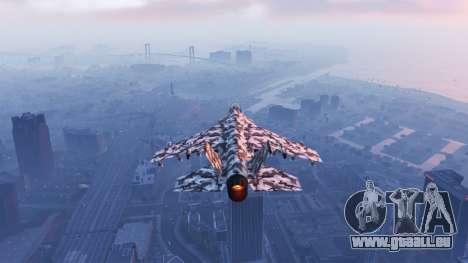 Hydra black & white camouflage pour GTA 5