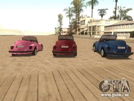 Volkswagen Beetle 1984 pour GTA San Andreas