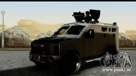 Camion Blindado für GTA San Andreas