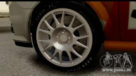 Opel Vectra pour GTA San Andreas vue arrière