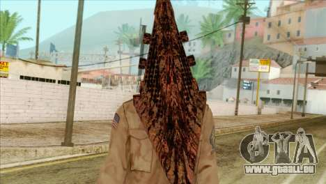 Bogeyman Alex Shepherd Skin without Flashlight für GTA San Andreas dritten Screenshot