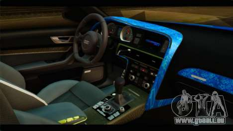 Audi RS6 VIP Star für GTA San Andreas rechten Ansicht