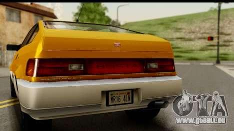 GTA 4 Blista Compact für GTA San Andreas rechten Ansicht