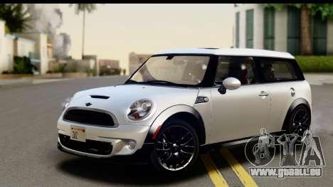 Mini Cooper Clubman 2011 für GTA San Andreas