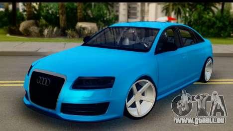 Audi RS6 Vossen für GTA San Andreas