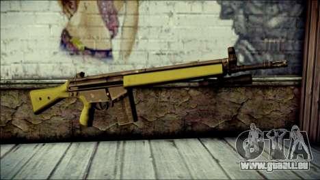 HK G3 Flashlight pour GTA San Andreas