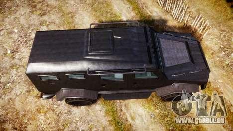 GTA V HVY Insurgent für GTA 4 rechte Ansicht