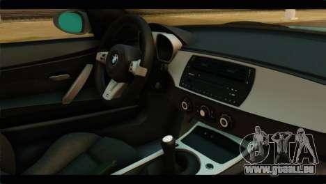 BMW Z4M Coupe für GTA San Andreas rechten Ansicht