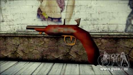Tokisaki Kurumi Desert Eagle für GTA San Andreas zweiten Screenshot