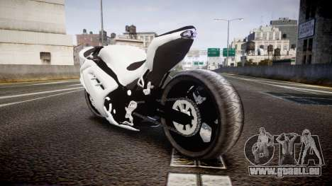 Kawasaki Ninja 250R Tuning pour GTA 4 Vue arrière de la gauche
