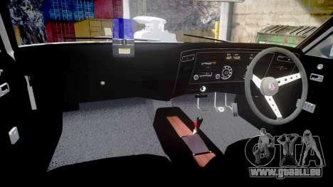 Ford Falcon XB GT351 Coupe 1973 Mad Max pour GTA 4 est une vue de l'intérieur