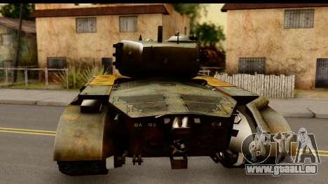 M26 Pershing Tiger für GTA San Andreas zurück linke Ansicht