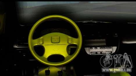 Honda Civic 1.4 Taxi für GTA San Andreas Innenansicht