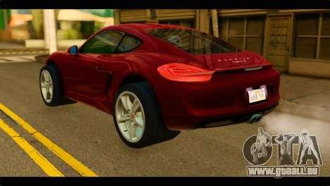 Monster Picador pour GTA San Andreas laissé vue