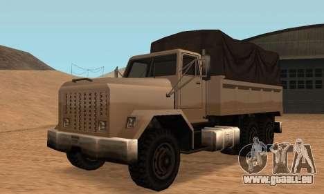 Barracks Fixed pour GTA San Andreas laissé vue