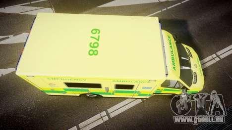 Mercedes-Benz Sprinter Ambulance [ELS] pour GTA 4 est un droit