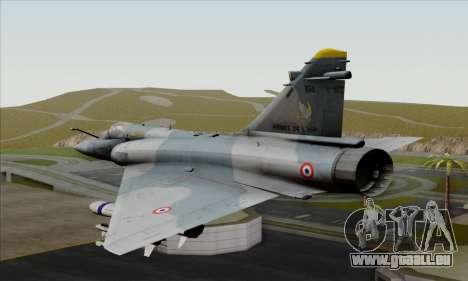 Dassault Mirage 2000-5 ACAH für GTA San Andreas linke Ansicht