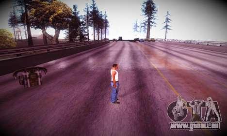 Ebin 7 ENB pour GTA San Andreas sixième écran