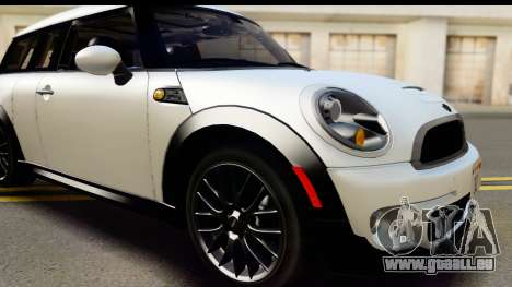 Mini Cooper Clubman 2011 pour GTA San Andreas vue de côté