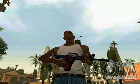 M4A1 Hyper Beast für GTA San Andreas