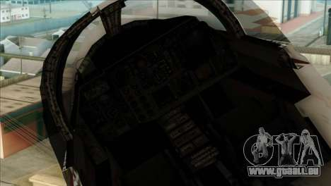 SU-27SK Indonesian Air Force pour GTA San Andreas vue de droite
