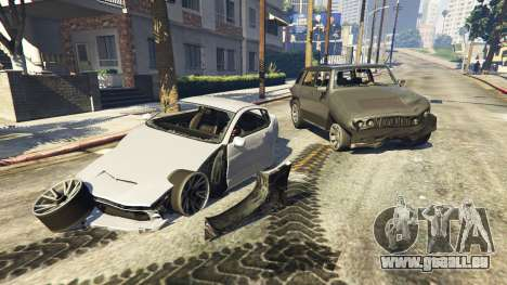 GTA 5 Erhöhte Verformung dritten Screenshot
