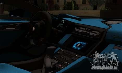 Lykan Hypersport 2014 EU Plate Livery Pack 2 pour GTA San Andreas vue de droite