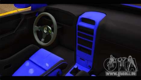 Opel Bertone Cabrio pour GTA San Andreas vue de droite