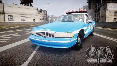Chevrolet Caprice 1994 LCPD Patrol [ELS] für GTA 4