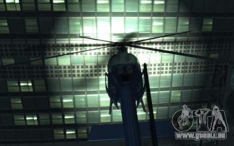 GTA III Police Valkyrie HD für GTA 4 rechte Ansicht