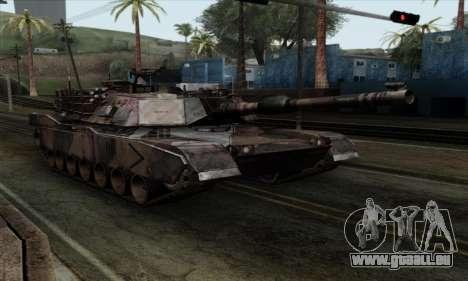 M1A2 Abrams Autumn Camo pour GTA San Andreas