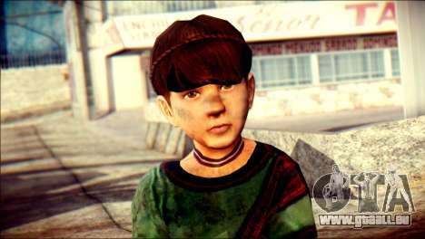 Child Vago Skin pour GTA San Andreas troisième écran