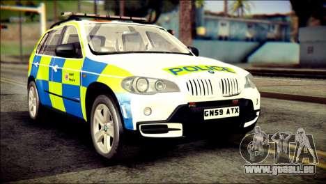 BMW X5 Kent Police RPU pour GTA San Andreas