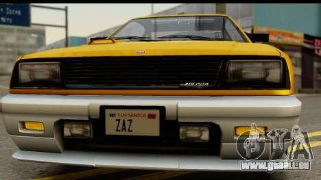 GTA 4 Blista Compact für GTA San Andreas Innenansicht