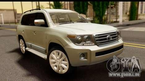 Toyota Land Cruiser 200 2013 pour GTA San Andreas