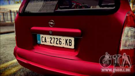Opel Astra G Caravan pour GTA San Andreas vue arrière