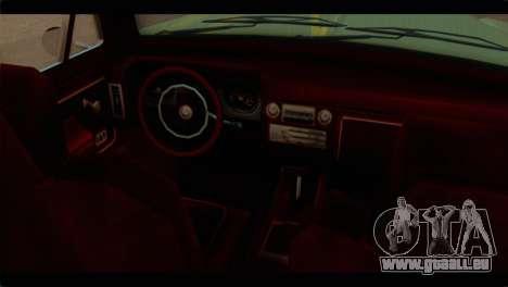 Chevrolet 56 pour GTA San Andreas vue de droite