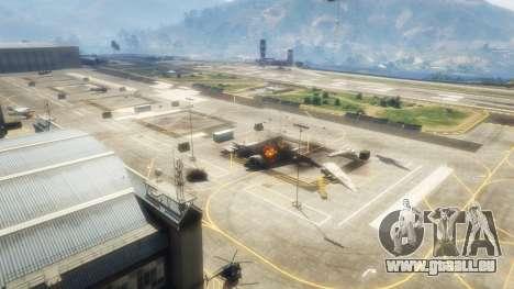 GTA 5 Luftangriff v1.1 zweite Screenshot