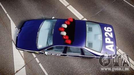 Chevrolet Caprice 1994 LCPD Auxiliary [ELS] pour GTA 4 est un droit