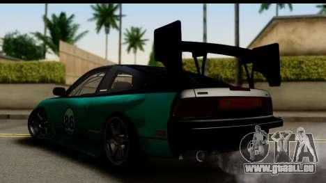 Nissan 200SX S13 Skin pour GTA San Andreas laissé vue