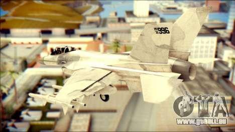 P-996 Lazer pour GTA San Andreas laissé vue