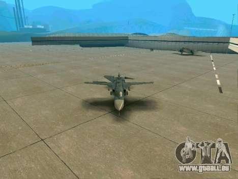 SU-24MR für GTA San Andreas Innen