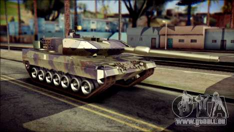 Leopard 2A6 PJ pour GTA San Andreas